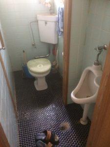 トイレ施工前(中井邸)