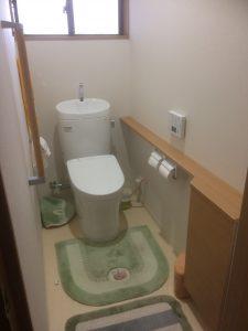 トイレ施工後(中井邸)